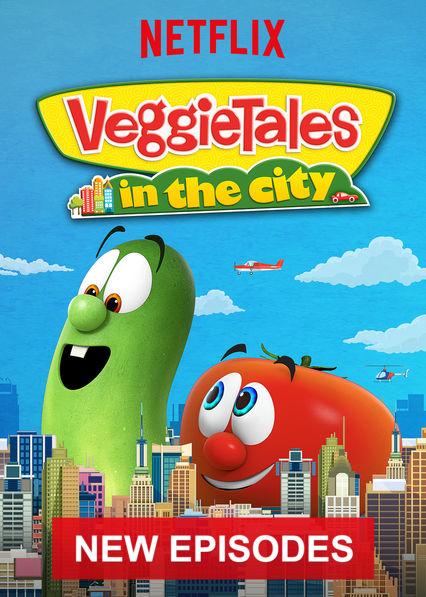 VeggieTales in the City on Netflix AUS/NZ