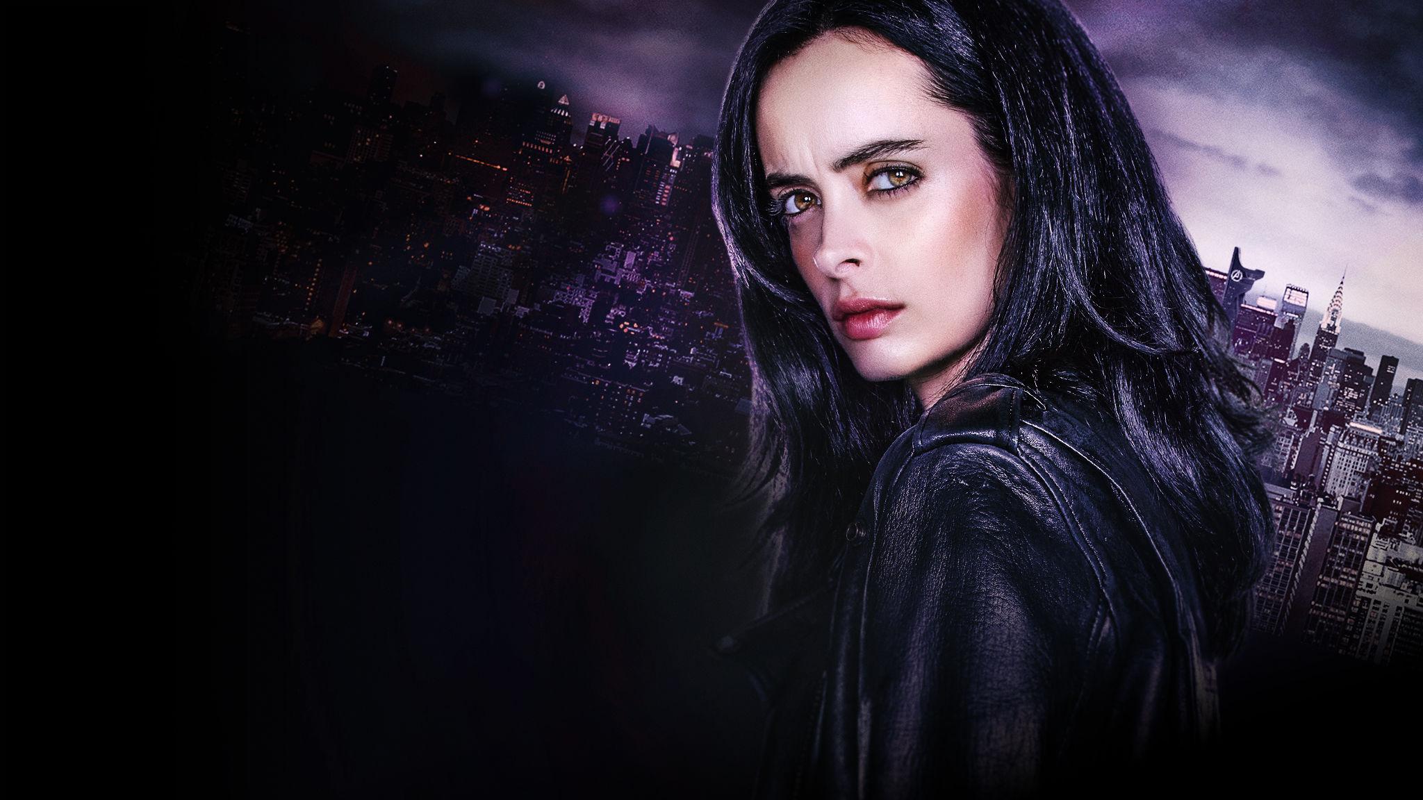 GlasgowLiving, Netflix, Jessica Jones, girl looking mysterious