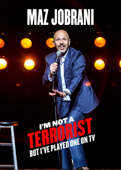 Carátula de Maz Jobrani: I'm Not a Terrorist, But I've Played One on TV