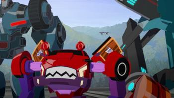 Episodio 10 (TTemporada 2) de Transformers: Robots in Disguise