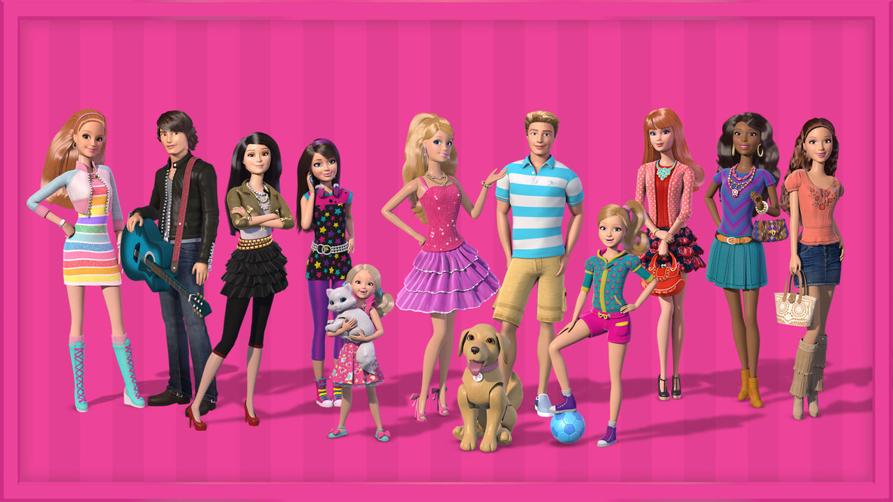 Barbie life in the dreamhouse netflix - Maison de reve barbie ...