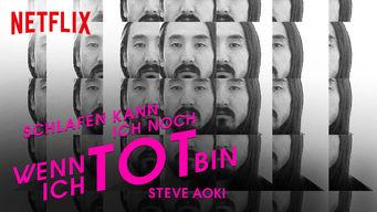 Steve Aoki: Schlafen kann ich noch, wenn ich tot bin