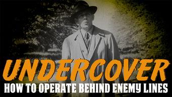 秘密工作員: 敵地の行動規範