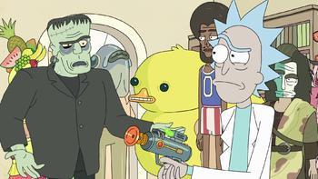 Episodio 4 (TTemporada 2) de Rick and Morty