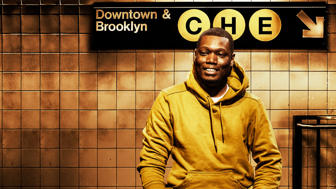 American stand-up comedian and the co-anchor on Weekend Update Michael Che