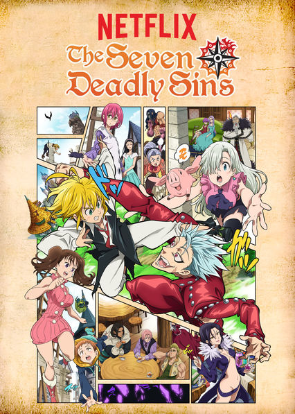 Seven Deadly Sins on Netflix UK