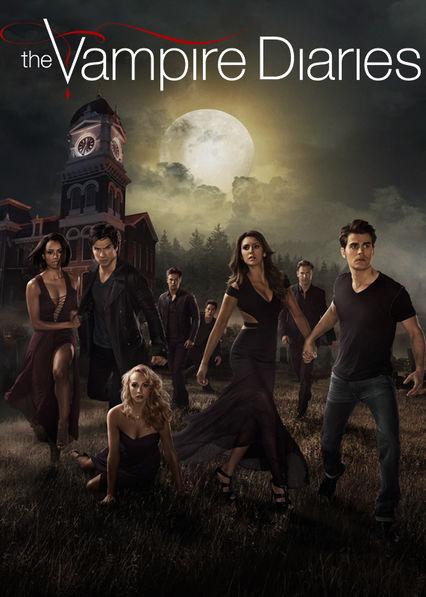 Vampire Diaries Netflix Poster Watch 'The Vampire Dia...
