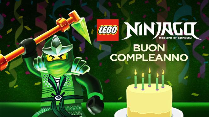 abbastanza LEGO Ninjago: Masters of Spinjitzu: Buon compleanno (scheda  RF09