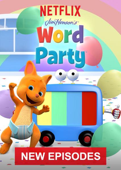 Word Party on Netflix AUS/NZ
