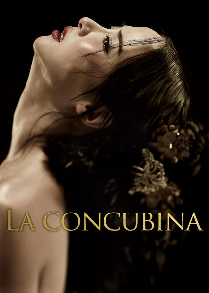 Carátula de La concubina