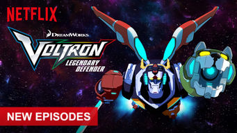 Voltron: Legendary Defender on Netflix USA
