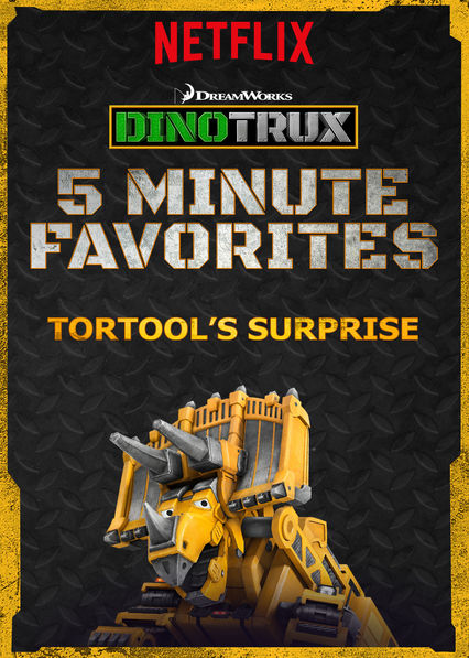 Dinotrux 5 Minute Favorite: Tortool's Surprise