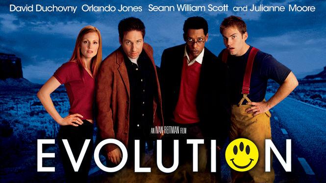 Evolution on Netflix AUS/NZ