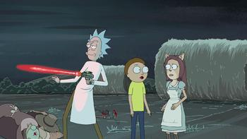 Episodio 9 (TTemporada 2) de Rick and Morty