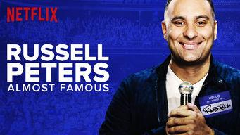 Resultado de imagen para 7 octubre 2017 Russell Peters: Almost Famous