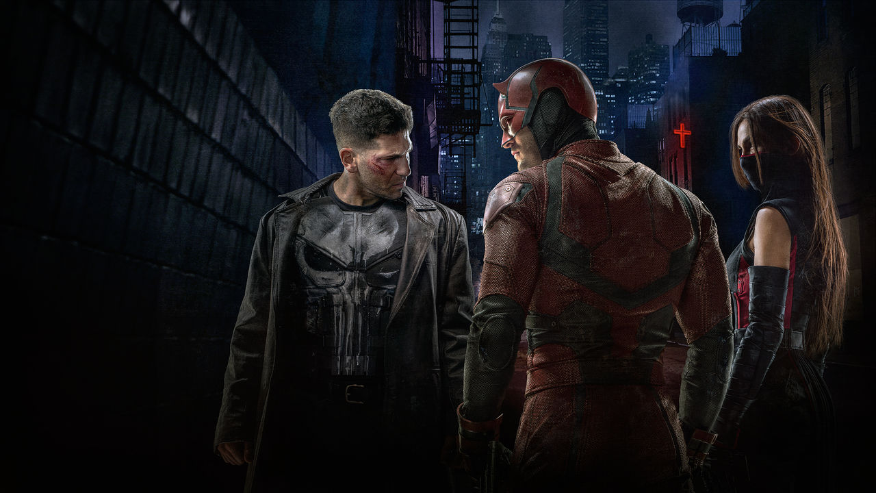 The Punisher, Daredevil und Elektra räumen auf in Hell's Kitchen