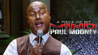Paul Mooney: A Piece of My Mind