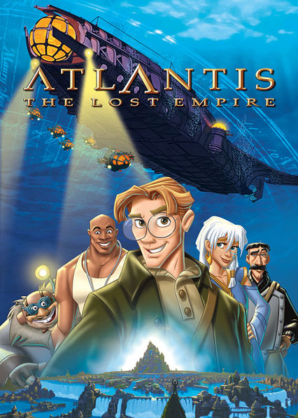Atlantis: The Lost Empire on Netflix AUS/NZ