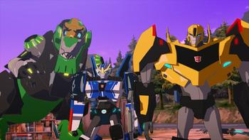 Episodio 7 (TTemporada 2) de Transformers: Robots in Disguise