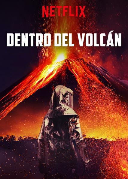 Carátula de Dentro del volcán