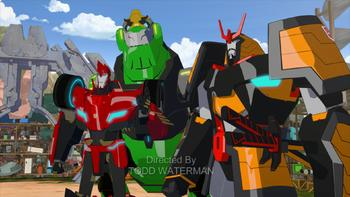 Episodio 5 (TTemporada 3) de Transformers: Robots in Disguise