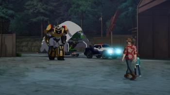 Episodio 8 (TTemporada 2) de Transformers: Robots in Disguise