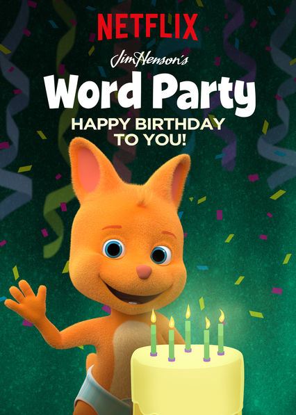 Word Party: Happy Birthday