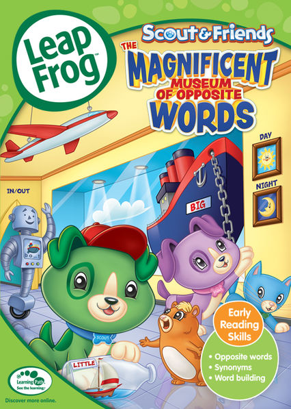 Leapfrog: Scout & Friends: The Magnificent Museum of Opposite Words