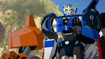 Episodio 2 (TTemporada 3) de Transformers: Robots in Disguise