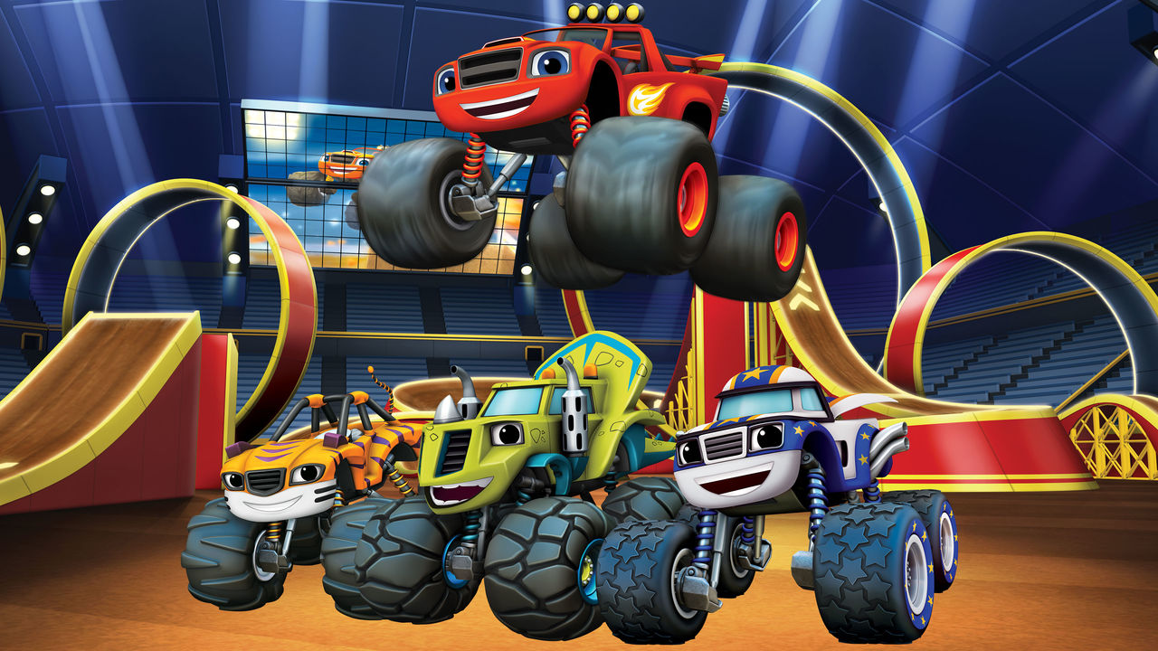Blaze and the monster machines netflix for Blaze cartoni