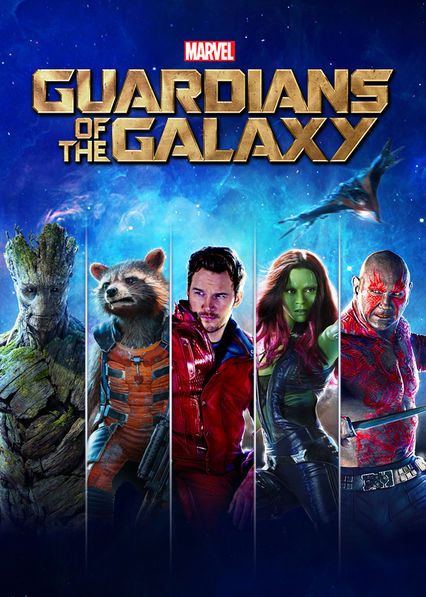 Guardians of the Galaxy on Netflix UK