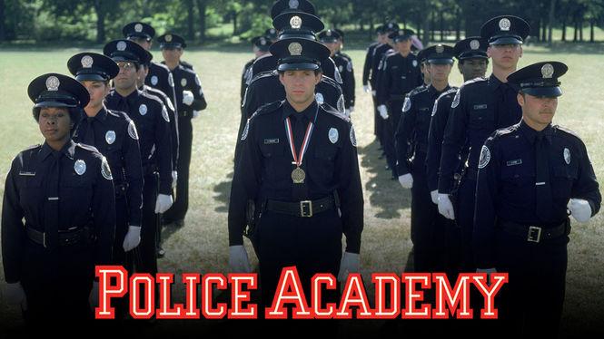 Police Academy on Netflix AUS/NZ