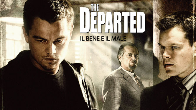 Locandina di The Departed - Il bene e il male