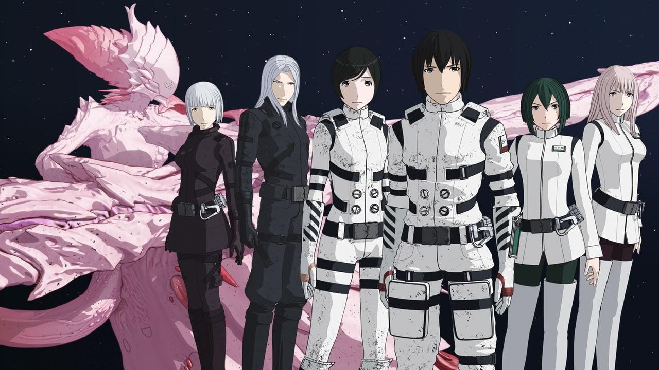 Kết quả hình ảnh cho Sidonia no Kishi (Knights of Sidonia) anime