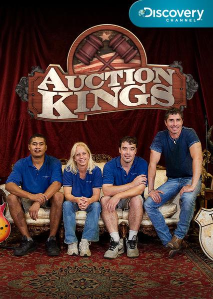 Auction Kings on Netflix AUS/NZ