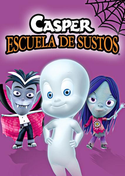 Carátula de Casper, escuela de sustos