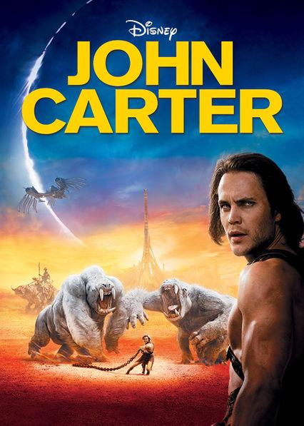 John Carter on Netflix AUS/NZ