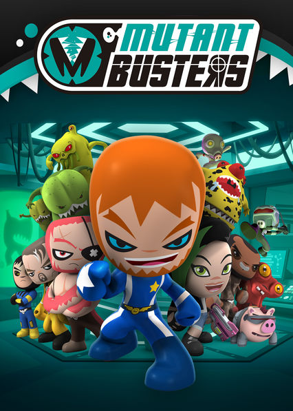 Carátula de Mutant Busters