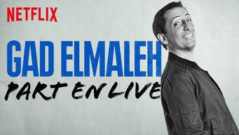 Gad Elmaleh Part en Live