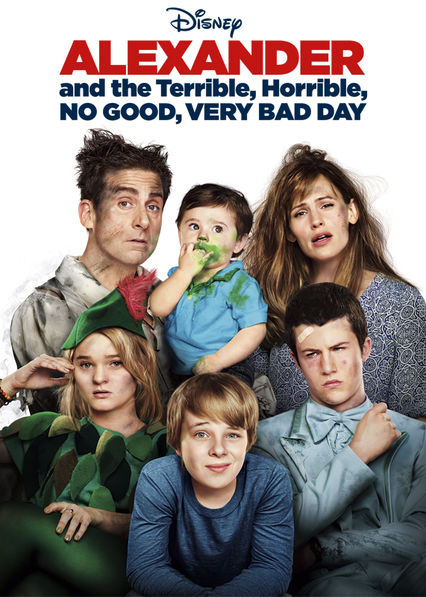 Alexander and the Terrible, Horrible, No Good, Very Bad Day on Netflix UK