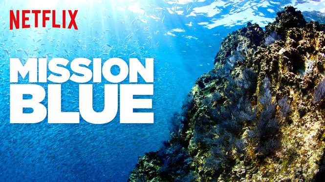 Locandina di Mission Blue