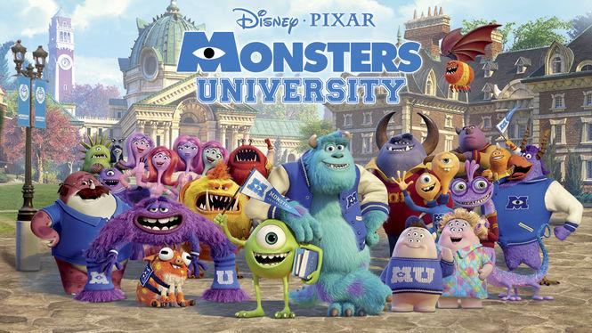 Monsters University on Netflix AUS/NZ