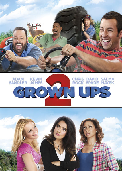 Grown Ups 2 on Netflix AUS/NZ